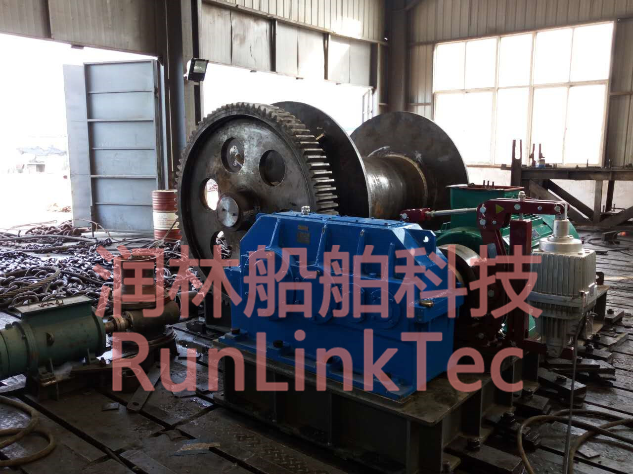 25t Electrical Winch/Marine Winch/Winch