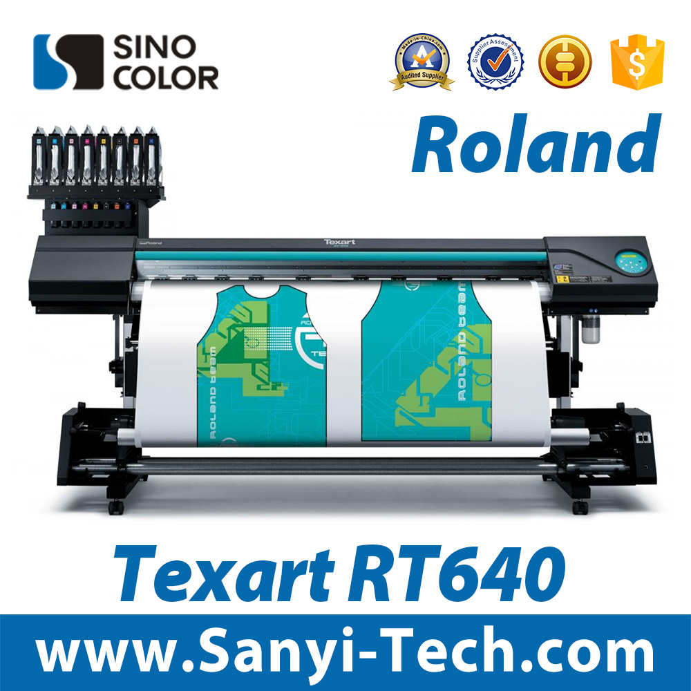Roland Inkjet Printer Wide Format Printer Roland Rt-640 Inkjet Printing Machine Printing Machinery Dye-Sublimation Transfer Printer Sublimation Printer