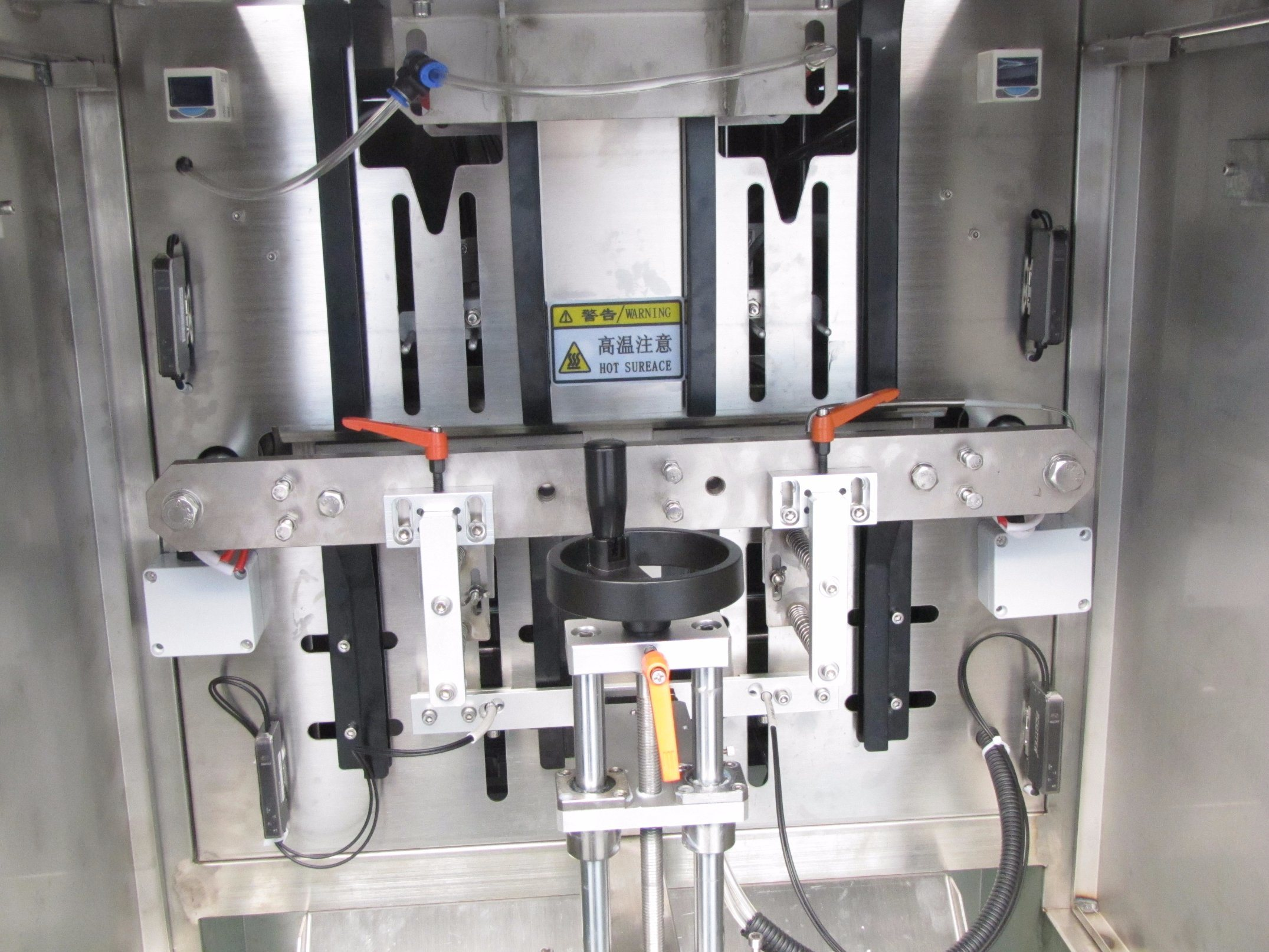 China High Speed Four Head Mask Filling Sealing Bagging Machine