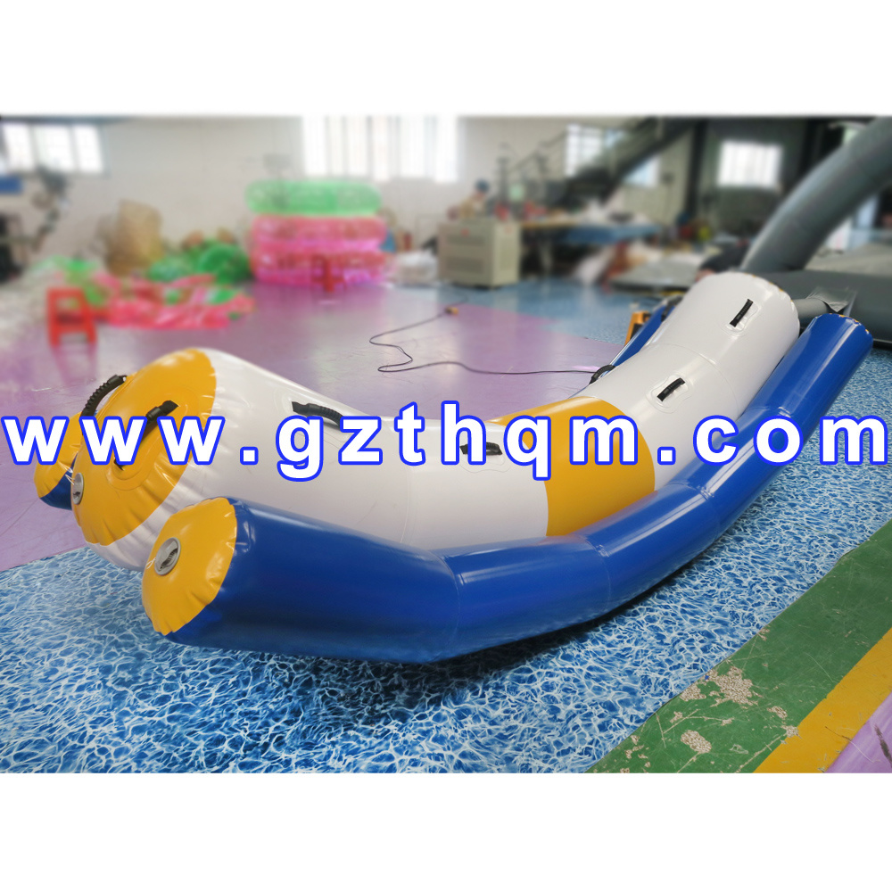 Water Boat for Adult Giant Inflatable Water Toys/Inflatable Water Game Banana Boat