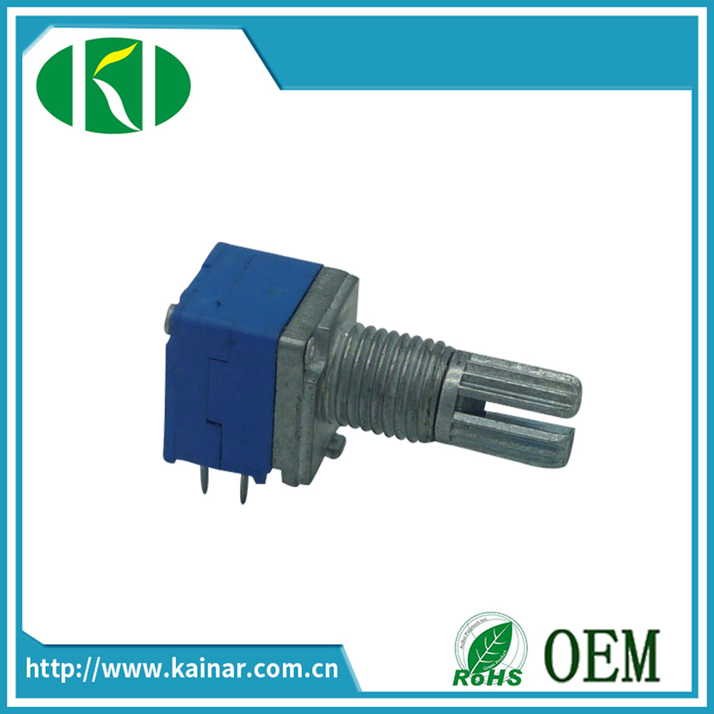 9mm Stereo Rotary Potentiometer with 6 Pins Wh9011A-2