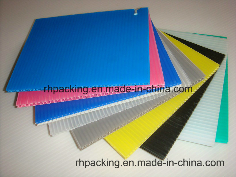 Polypropylene PP Coroplastc Board with 2-10mm Thickness