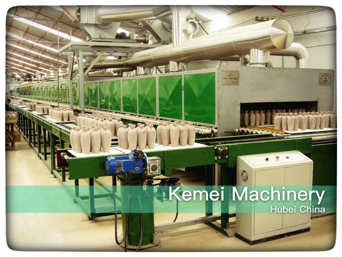 Roller Kiln for Bone China Teaset