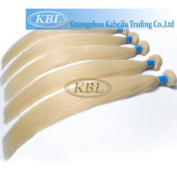 European 613# Blond Color Human Hair Bundle