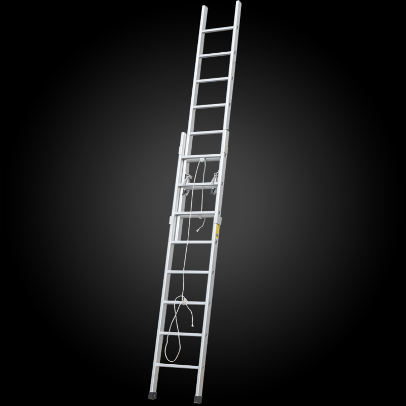 2016 Hot Sale Aluminum Extension Firefighting Ladder