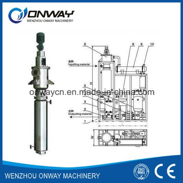 Tfe High Efficient Mini Vacuum Scraper Rotary Evaporator
