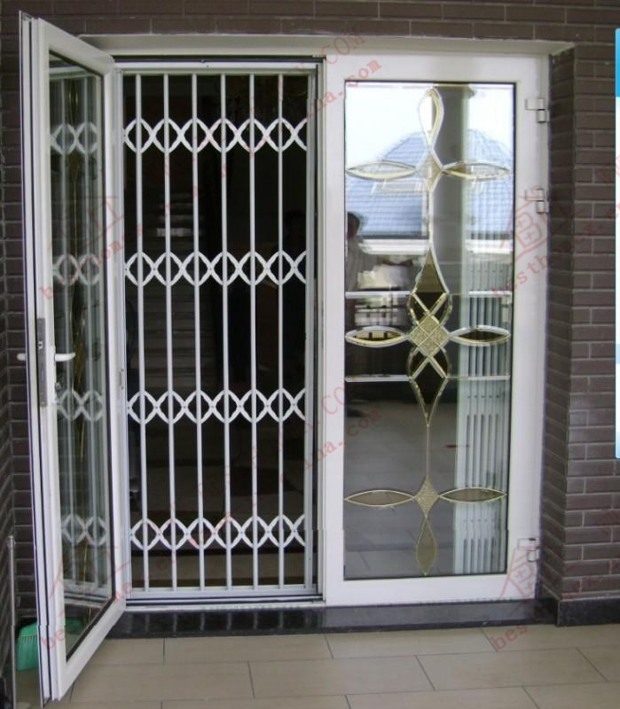 High Quality Stainless Steel Sliding Grille Door (BHS-DA02)