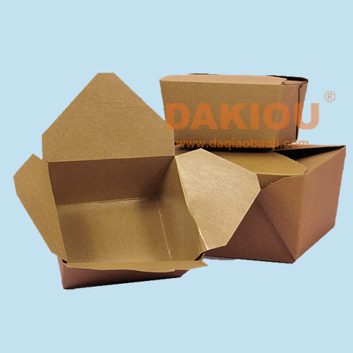 New Type of Hamburger Packaging Box Machinery