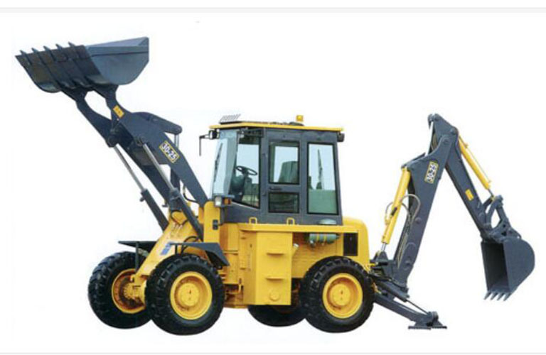 XCMG Backhoe Loader (Xt876, loader)