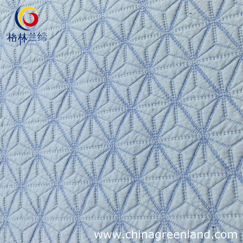 56%C 42%T 2% Spandex Jacquard Weft Knitted Fabric