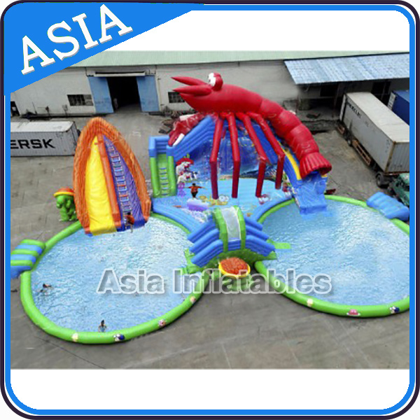 Giant Inflatable Water Park, Inflatable Amusement Park