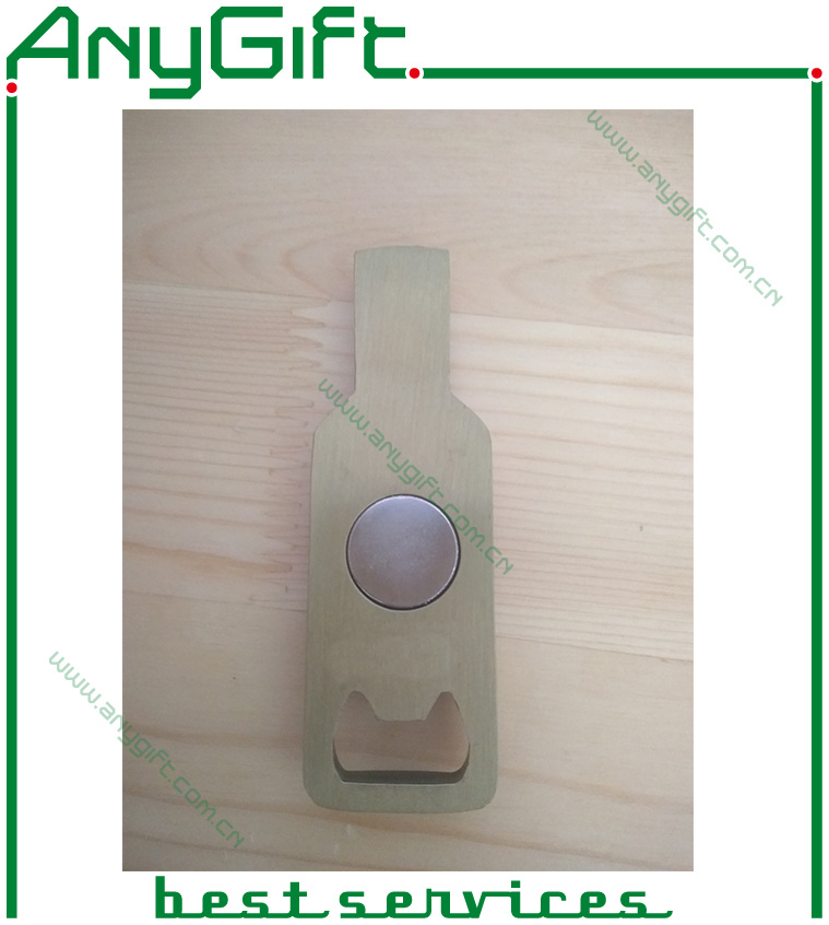 Zinc Alloy Die Cating Bottle Opener with Magnet
