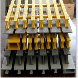 Pultruded FRP/GRP Fiberglass Grating