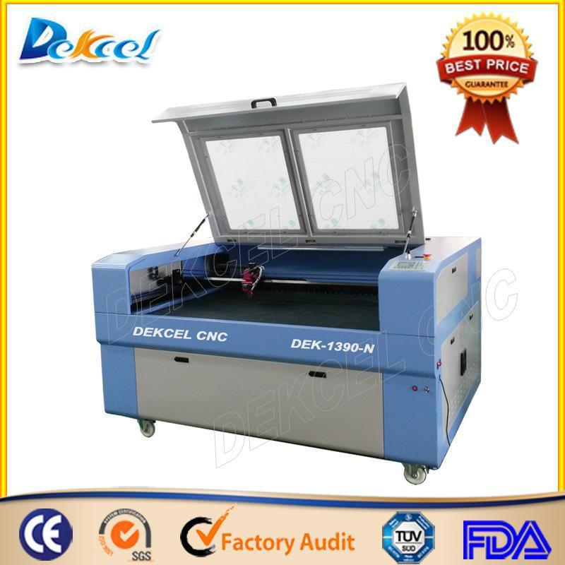 CNC Laser Engraving Machine on Curved Material Cutting