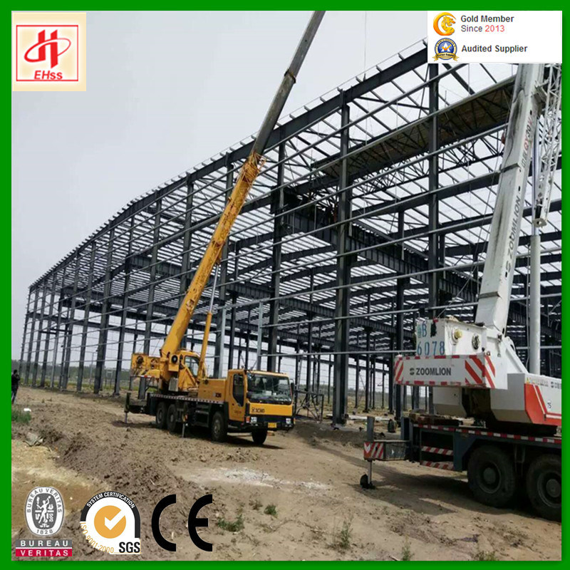Steel Structure Prefabricated Warehouse Steel Structure Godown