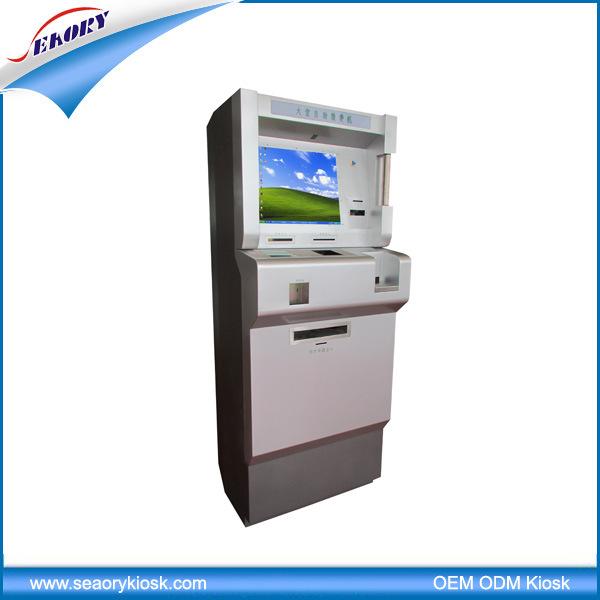 Payment Cash Accpetor Card Dispenser Self-Service Kiosk Terminal Machine