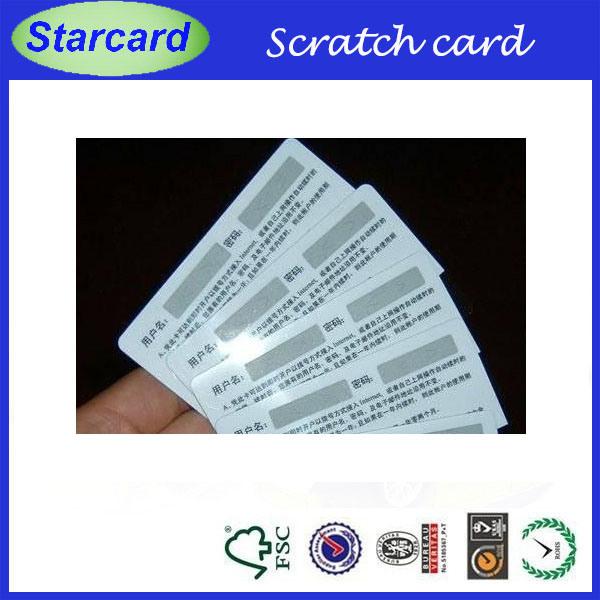 Paper Prepaid Card (Cr80 paper)