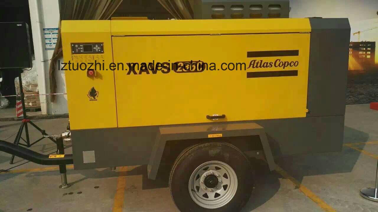 Atlas Copco 365cfm 10bar Jackhammer Portable Diesel Air Compressor