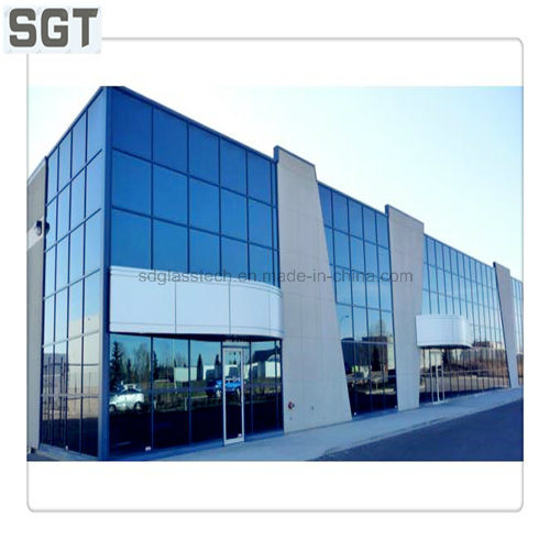 4.6mm-38mm Clear/ Colored Toughened Laminated Glass Used in Building