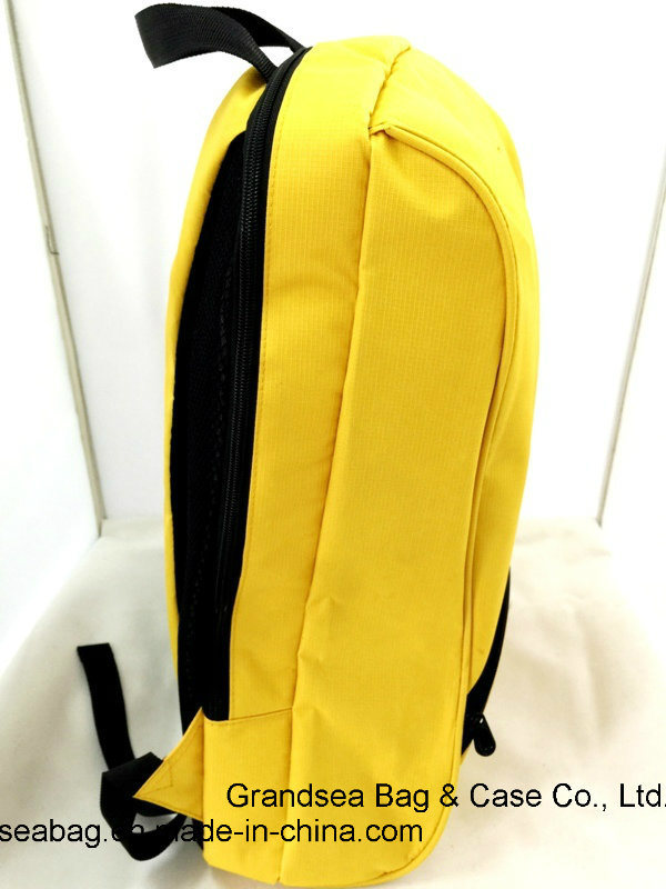 2017 Fashion Sport Laptop Backpack School Bag Travel Hiking Camping Business Promotional Backpack (GB#20001) -Yellow
