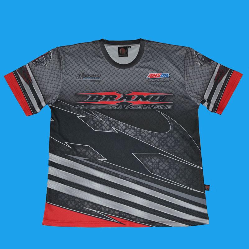 Men′s Sublimated T-Shirt/Men′s Sublimation Tee/Crew Neck Jersey