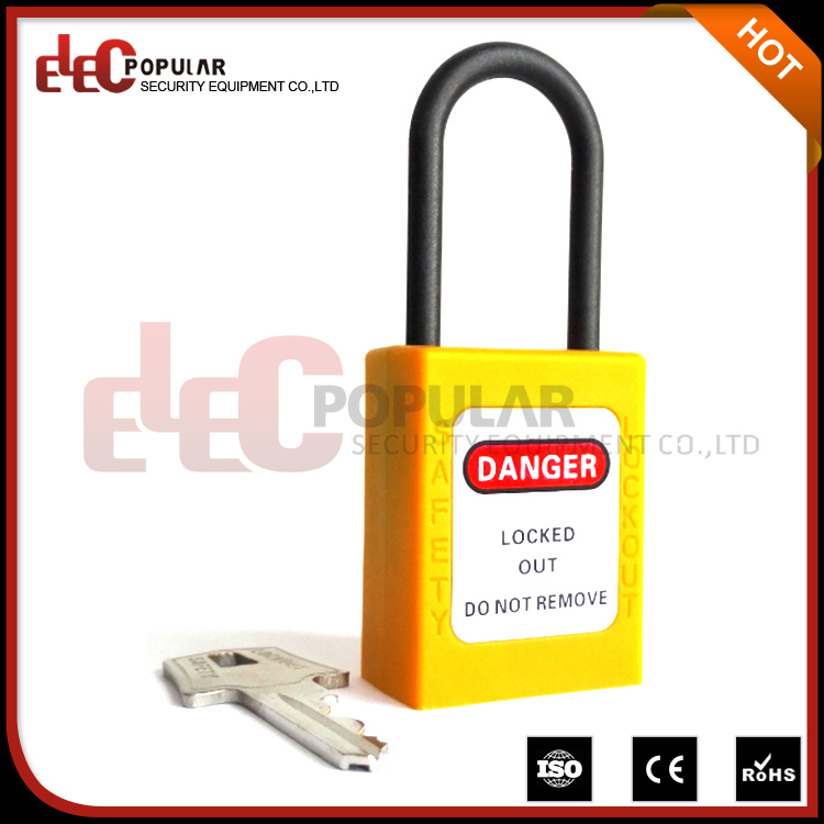 Slim Ss316 Shackle Safety Padlock