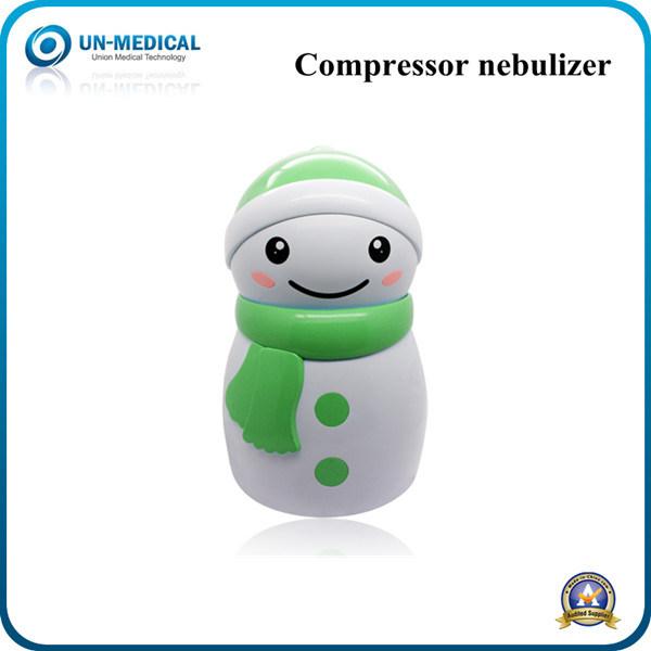 Cute Snowman Design Compressor Nebulizer