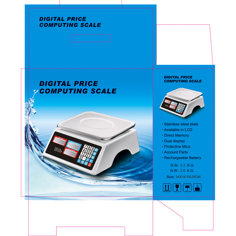 Electronic Waterproof Price Weighing Scale (DH-688)