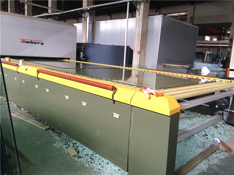 Horizontal Roller Hearth Flat Tempered Glass Furnaces