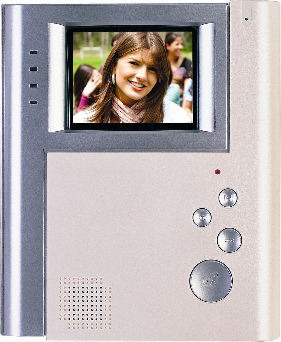 4 Inch Hands Free 4 Wires or 2 Wires Color Video Door Phone