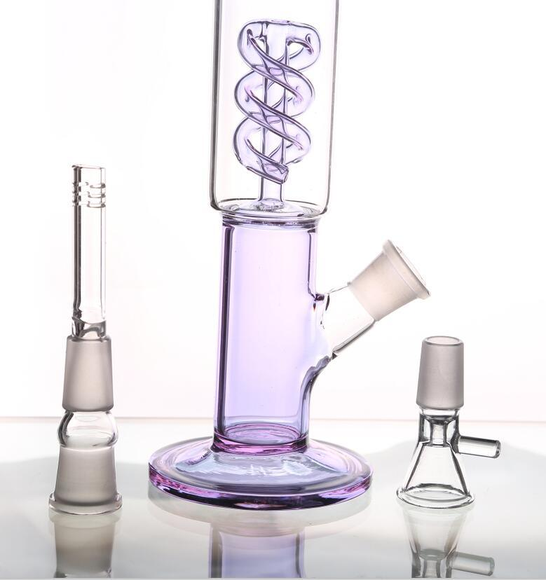 Purple Glass Water Pipes Oil Rigs Water Pipes Smoking Pipes