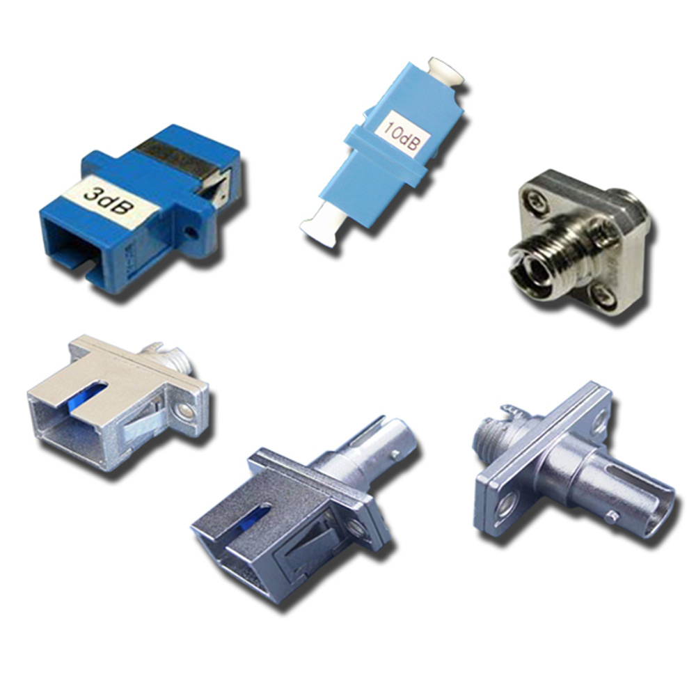 Adaptor Type Fixed Optical Fiber Attenuator