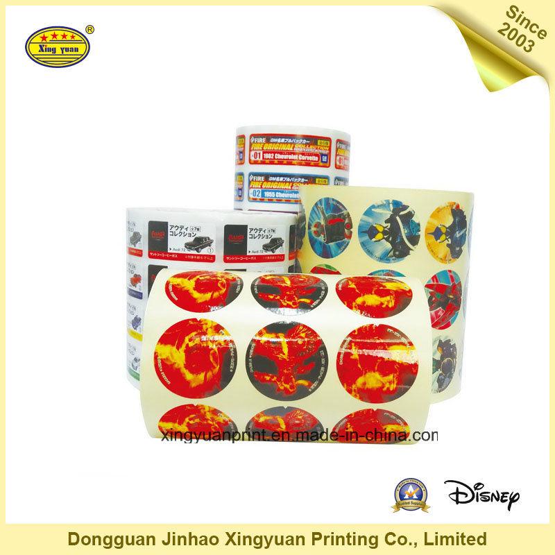 Waterproof Sticker Roll Self Adhesive Stickers (JHXY-AS0015)