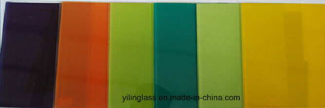 Toughened Color Painted or Printed Splashback Glass