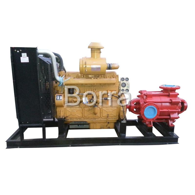 Multistage High Pressure Diesel Water Pump with Trailer