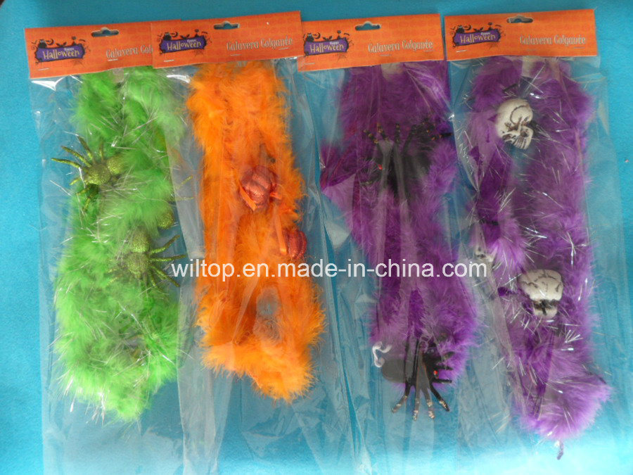 Halloween Assorted Color Feather Boa (DH007)