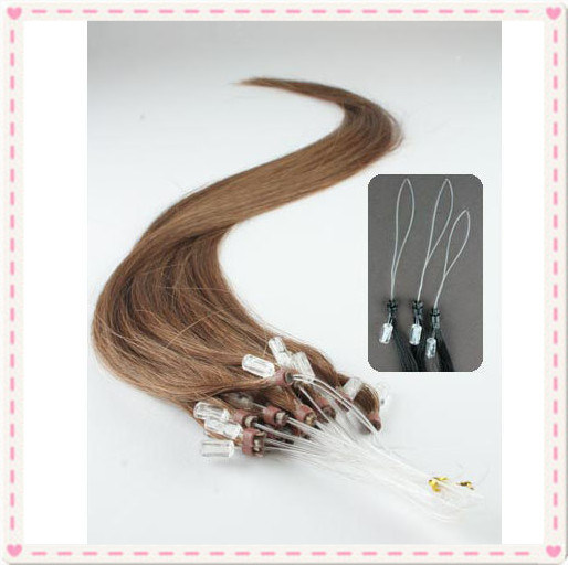 Brazilian Remy Loop Ring Human Hair Extensions