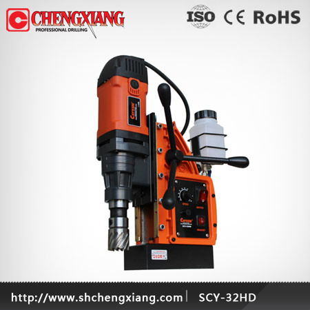 CAYKEN 32mm Drill Press Tool, Magnetic Base Drill, Magnetic Base Drilling Machine (SCY-32HD)