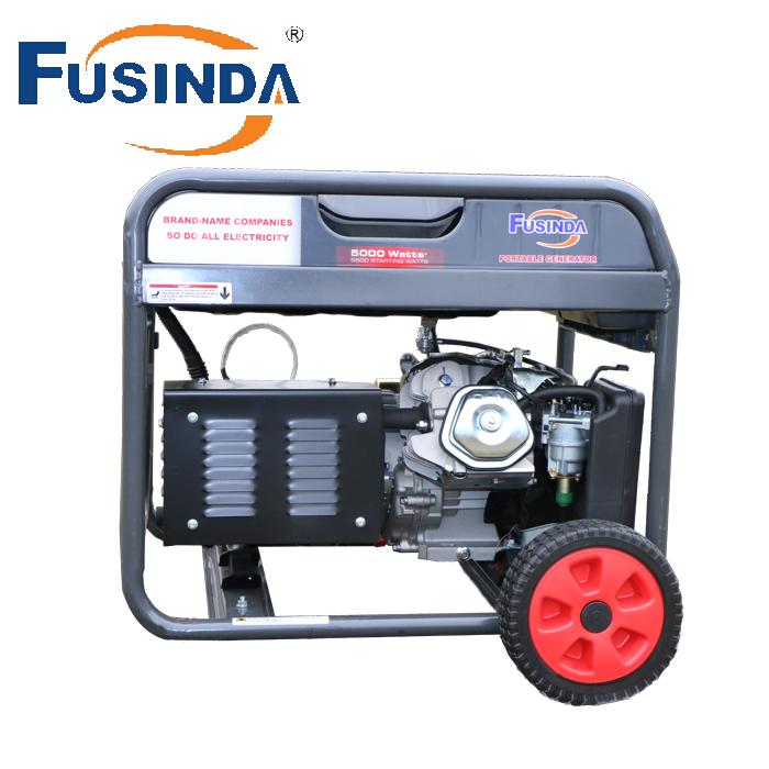 Fusinda 5kVA Fd6500e Genset Bensin Open Type with AVR