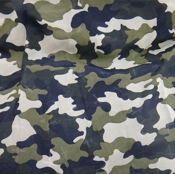 Polyester Fabric Camouflage Chiffon Fabric