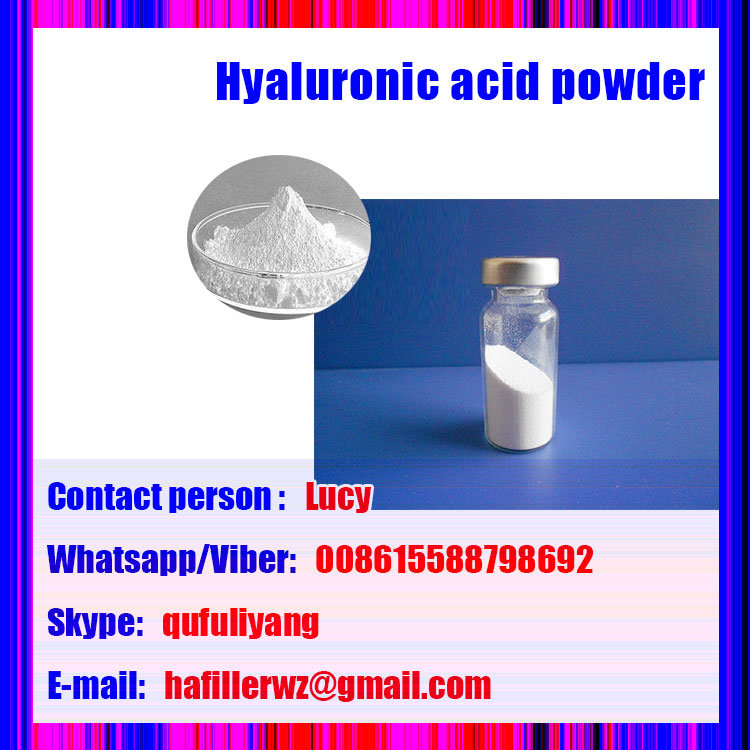 Cosmetic Grade Sodium Hyaluronate Ha Power for Skin Moisturizing Product