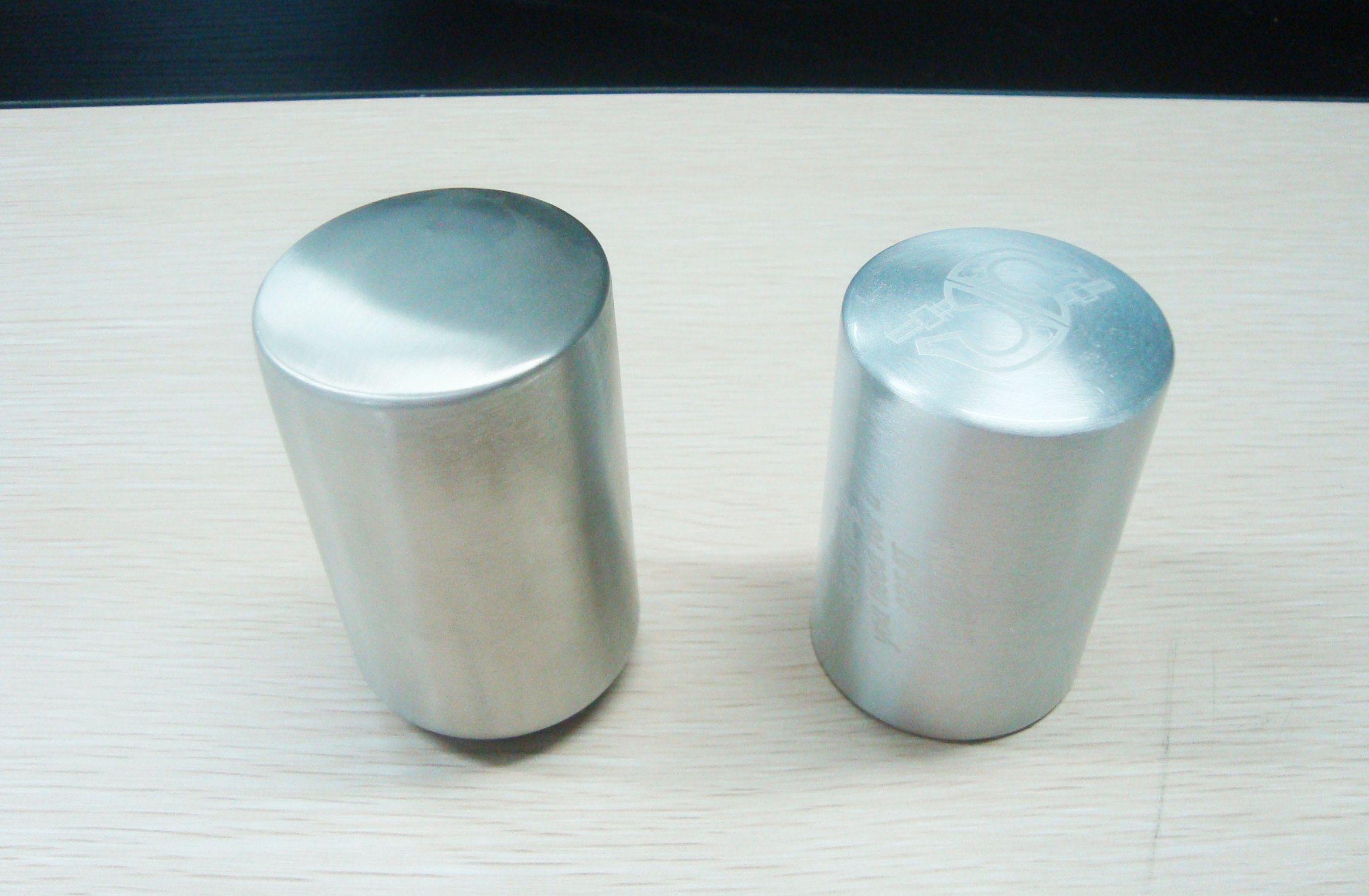 Metal Columnar Automatic Push Down Bottle Opener