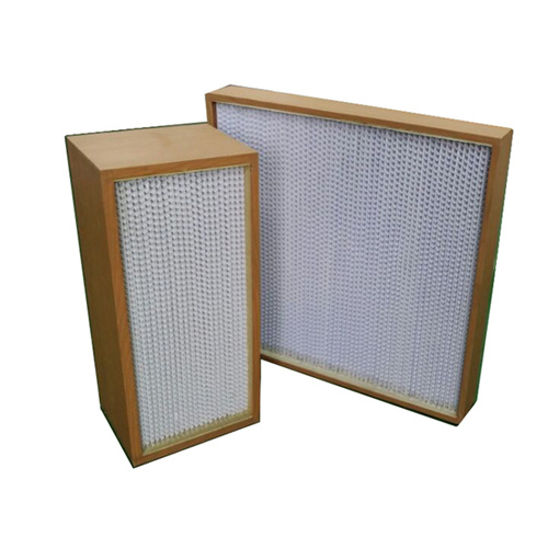 Clapboard HEPA Air Filter with Low Resistance