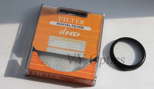Optical Star Filter for Digital Camera with 8 Stars From China