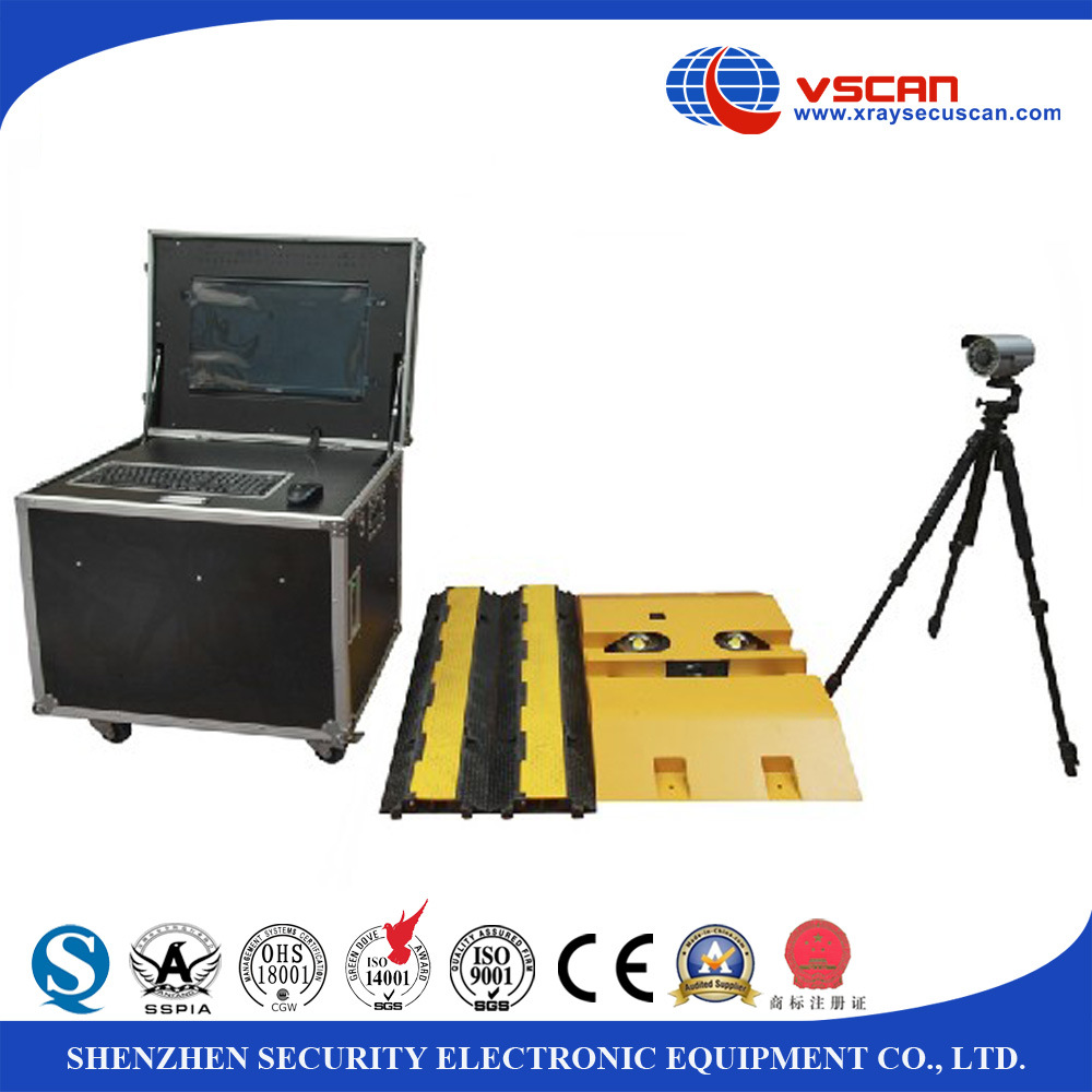 Mobile Under Vehicle Searching Camera System with Automatic Operation Detecting The Dangerous Items Under Vehicle