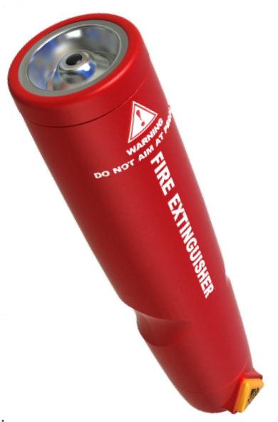 Nano Particles Portable Fire Extinguisher