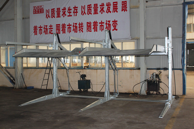 Two Post Hydraulic Car Vehicle Auto Parts Lifting Equipment