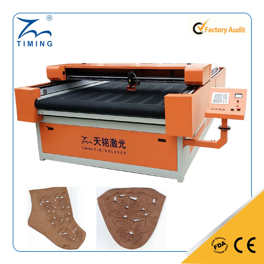Large Format Cloth Fabric Laser Cutting Engraving Machine 1200*2500mm