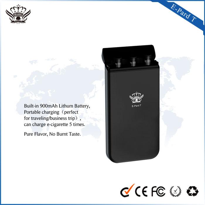2016 New Product No Button Glass Smoking Vaporizer Pen