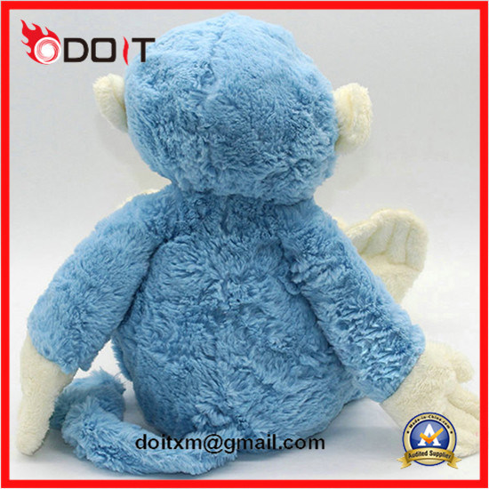 Blue Monkey Soft Toy Stuffed Toy Monkey Plush Monkey Toy